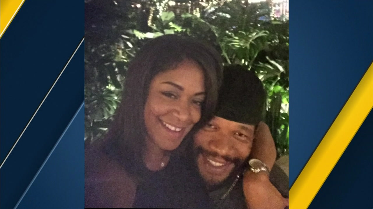 Tanisha Moss is mourning her fiance Wykin Harris, a good Samaritan who was killed trying to help a crash victim on the 215 Freeway.
