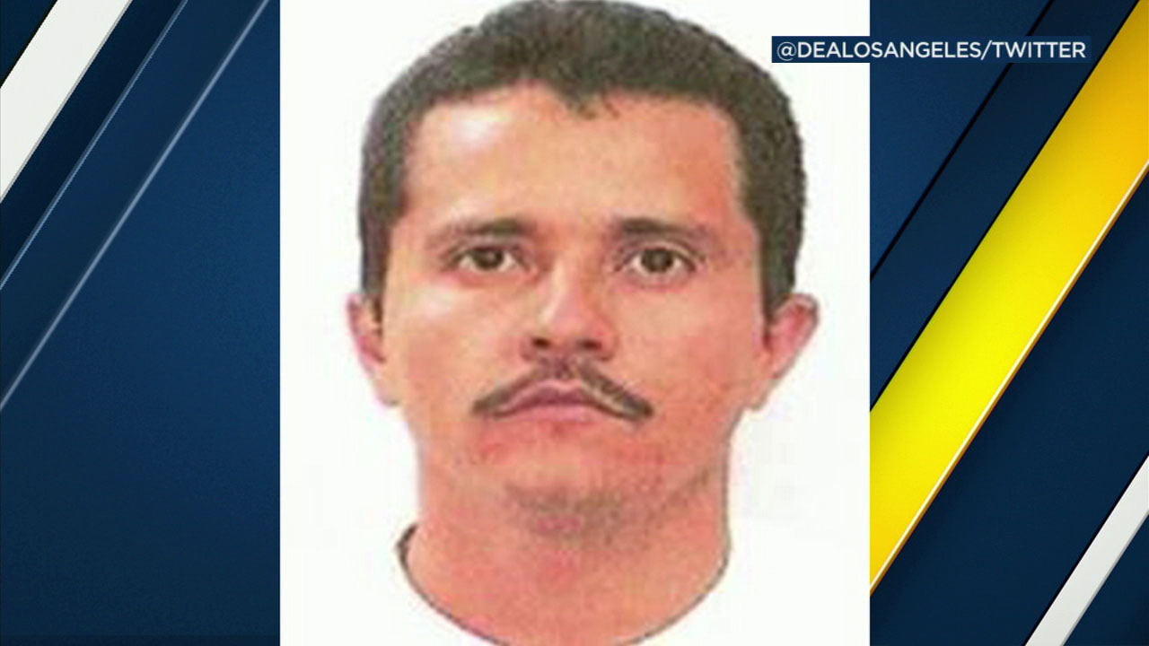 El Mencho, who is head of the New Generation Cartel of Jalisco, is shown in a photo.