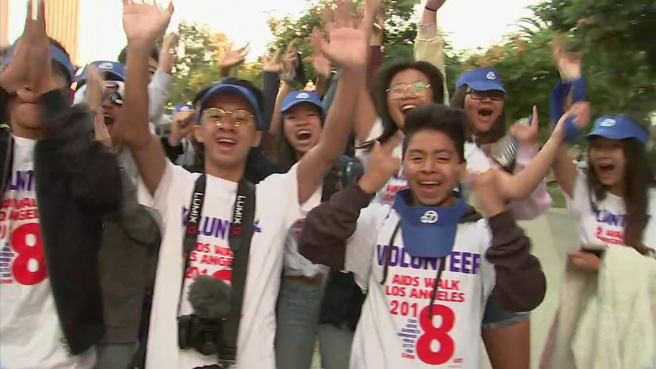 The 34th annual AIDS Walk Los Angeles is set to get underway Sunday morning.