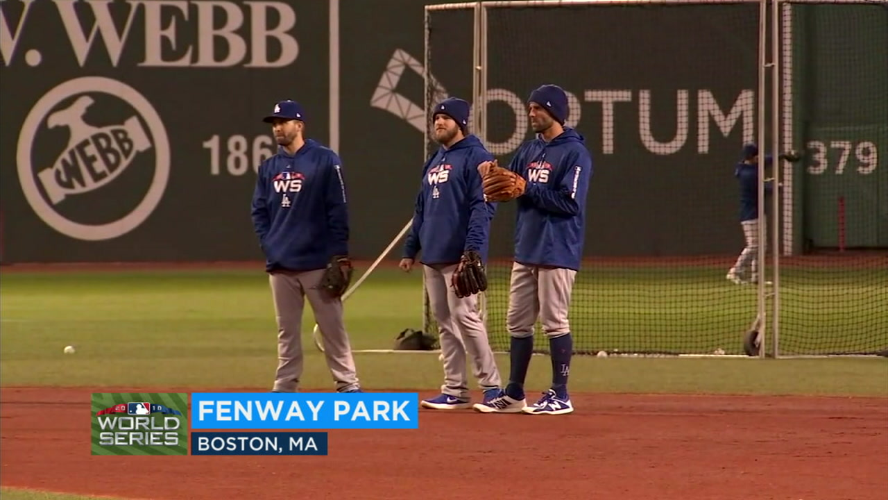 The Dodgers are preparing to face the Boston Red Sox as the 2018 World Series opens at Fenway Park Tuesday.