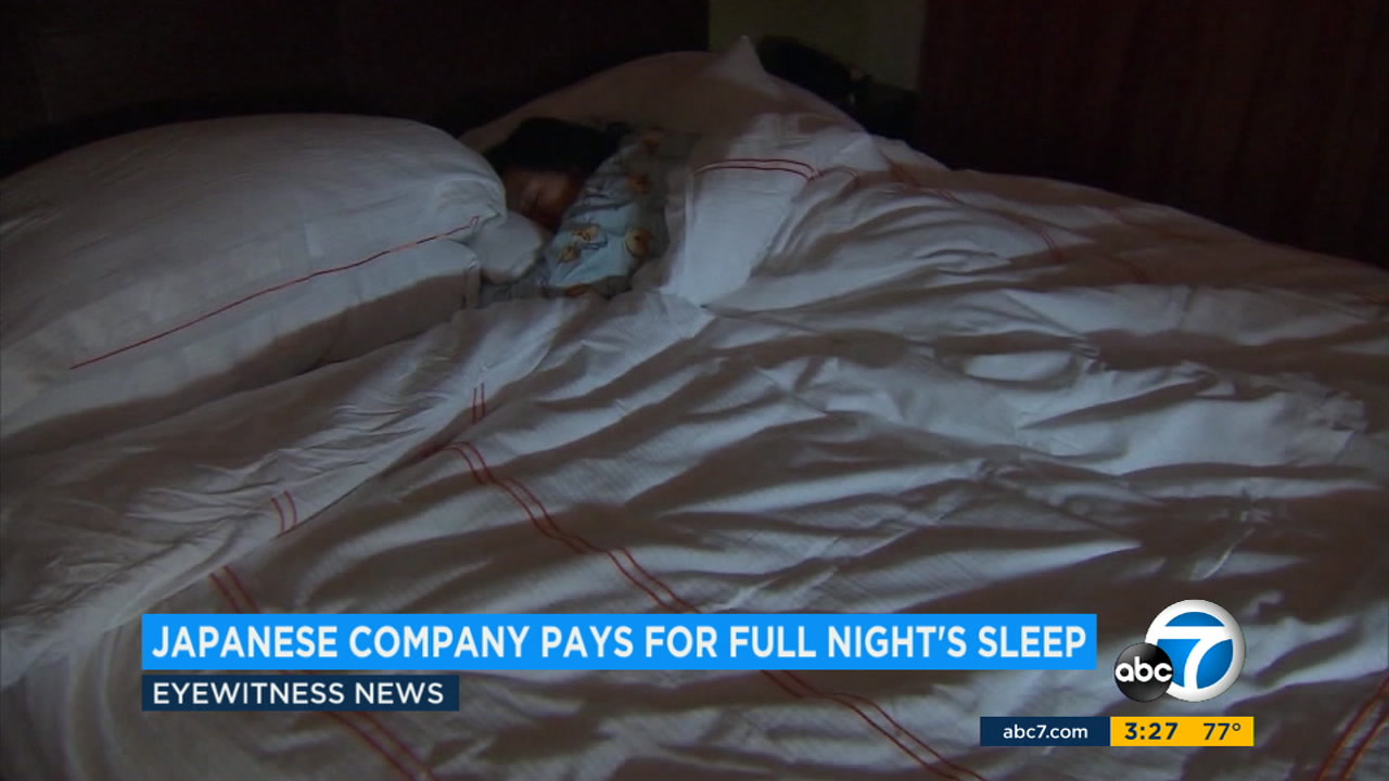 A company in Japan is paying its employees to get a full nights sleep.