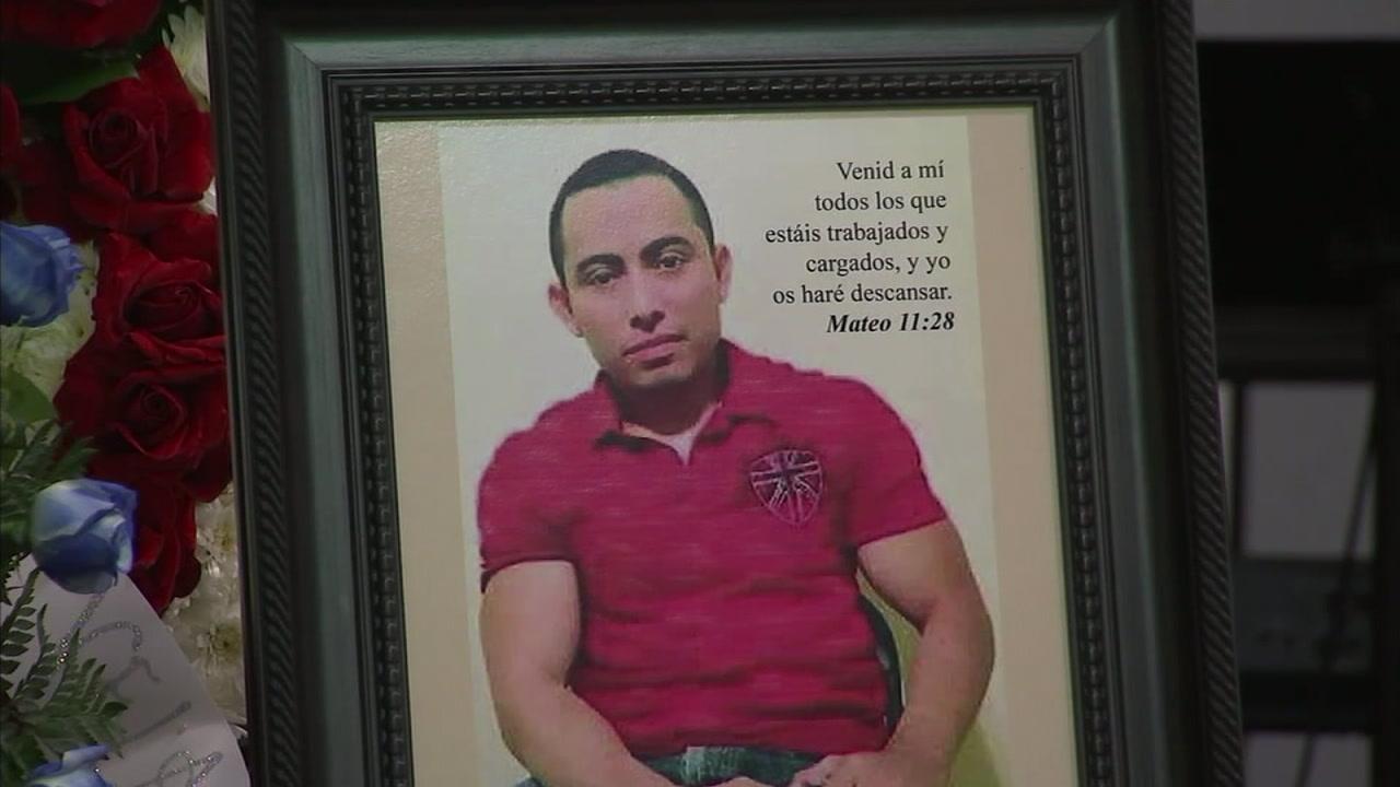Edras Velasquez is shown in a memorial photo.