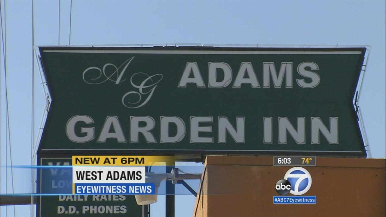 West Adams motel a hotbed for crime, neighbors say; protesters demand change