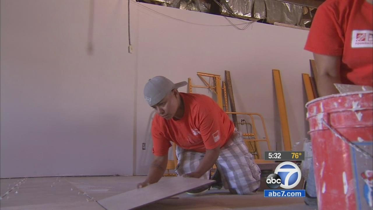 A project to renovate the Veterans of Foreign Wars post in Rancho Cucamonga hit a snag after tools and supplies were stolen Thursday evening.