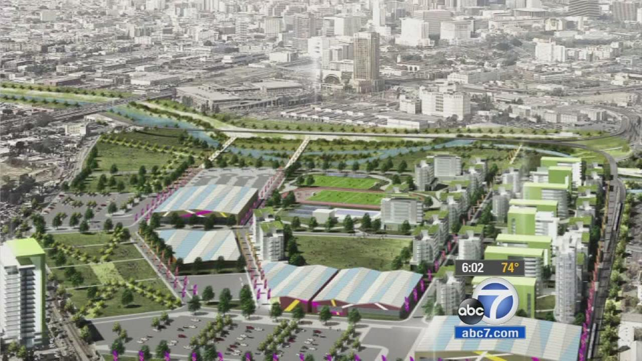 Bringing 2024 Olympics to LA could ease housing crisis, city leaders say