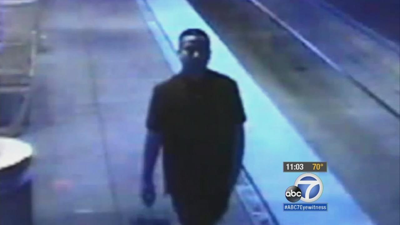 An attempted rape suspect is caught on surveillance footage from Sept. 29, 2015. Authorities hope the image can help the public identify him.