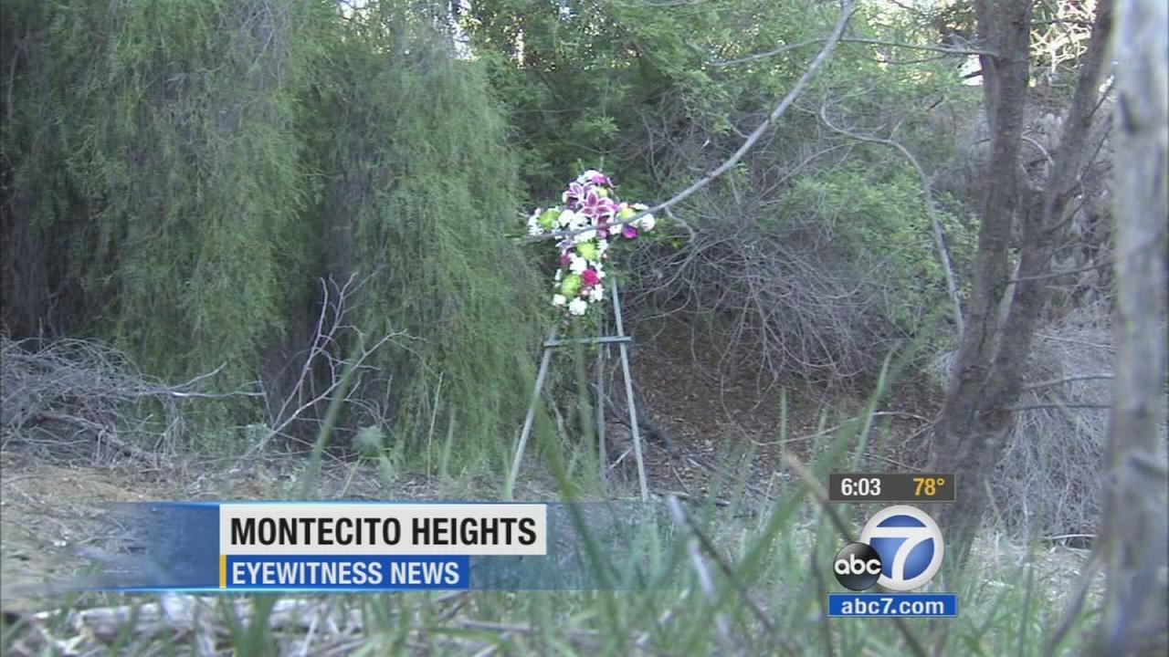 People gathered at Ernest Debs Regional Park in Montecito Heights on Thursday, Oct. 29, 2015, the day after two women were found dead.