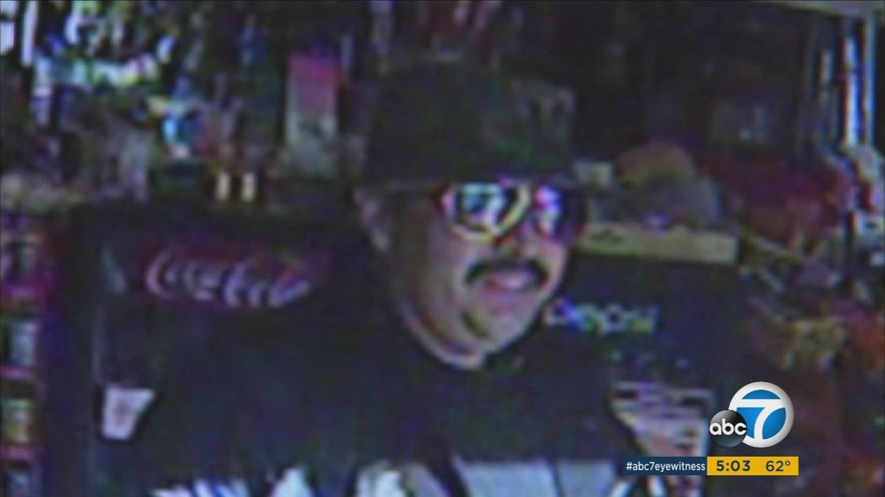 Suspect wanted in Buena Park gas station robbery may be linked to others