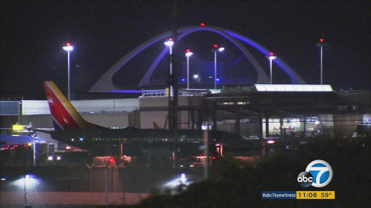 Mysterious maneuvers over the Pacific are forcing a change in Los Angeles International Airport landings late at night, meaning noise for thousands of people in the flight path.