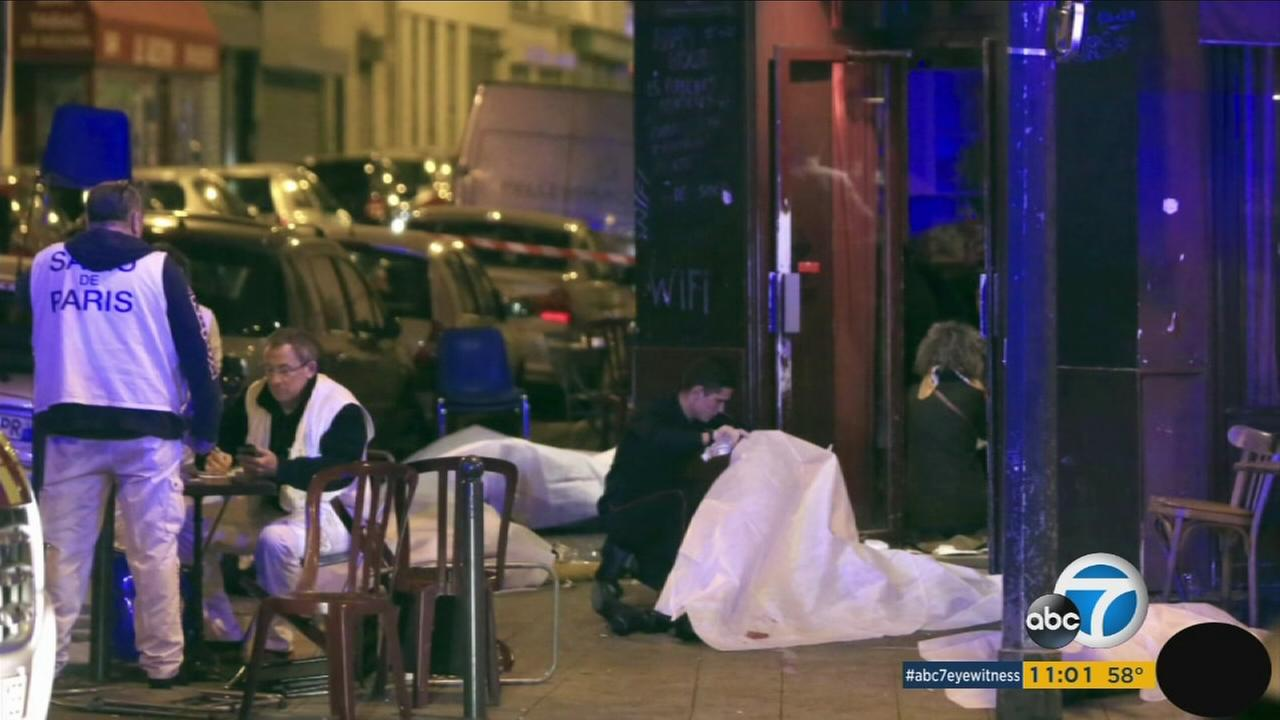 Terror attacks in Paris left more than 120 people dead on Friday, Nov. 13, 2015.