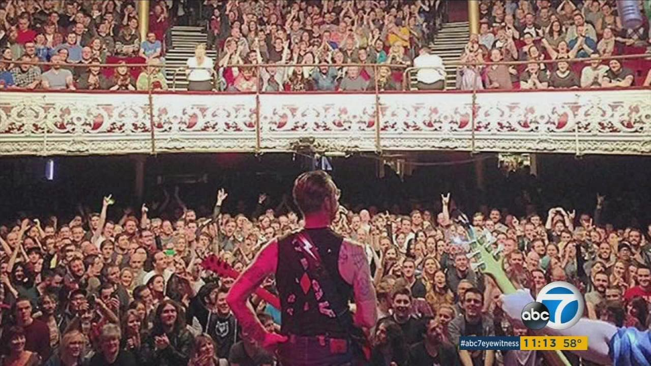 The Eagles of Death Metal, a band from Palm Desert, California, escaped the Bataclan theater in Paris after terrorist killed several and held many people hostage on Nov. 13, 2015.