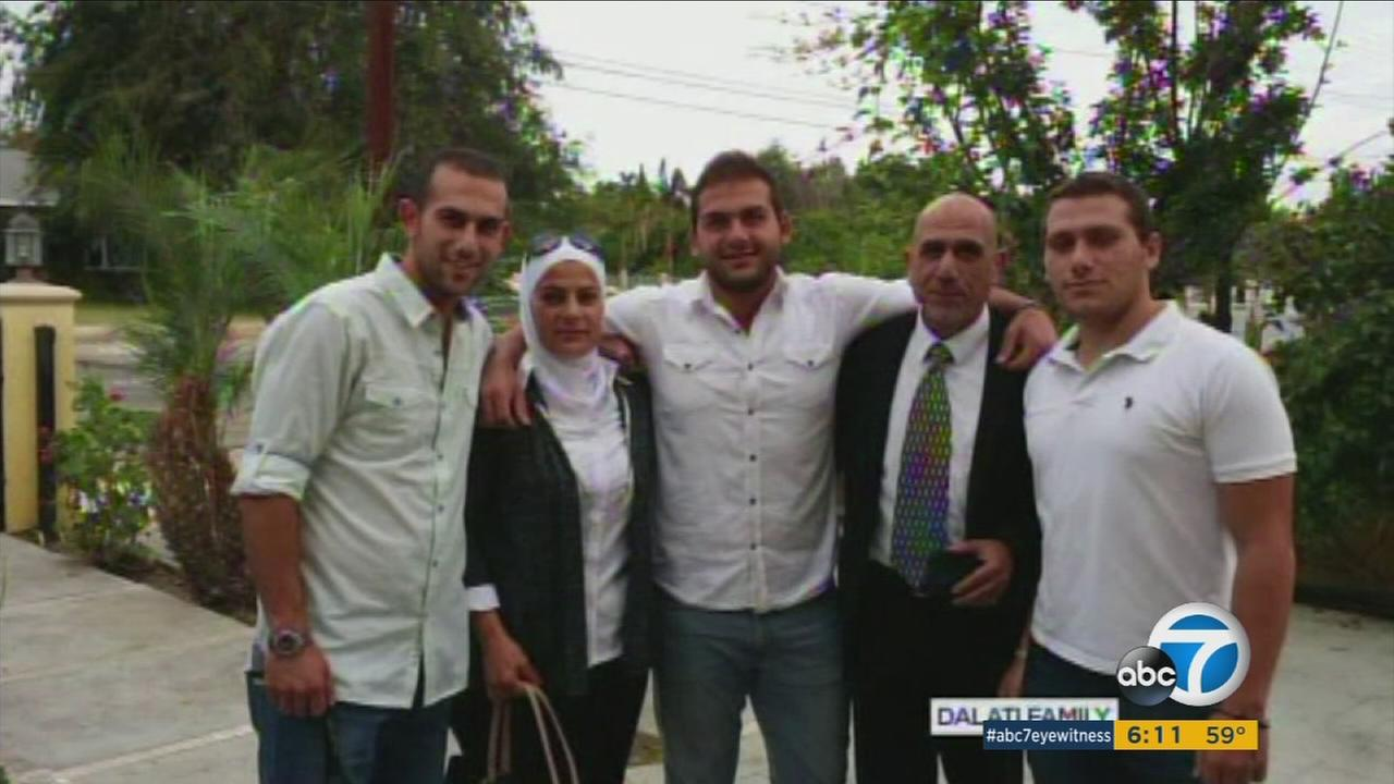 The Dalati family, who took refuge in Orange County in January of 2014 after fleeing Syria.