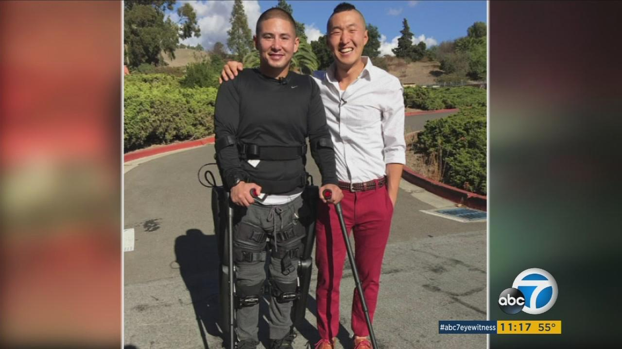 Arthur Renowitzky, who was paralyzed in an armed robbery, and Eugene Yoon continue to inspire the community.