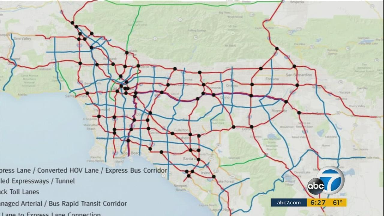 A think tank has come up with a solution to Los Angeles traffic gridlock, but it comes with a hefty price tag of $700 billion.