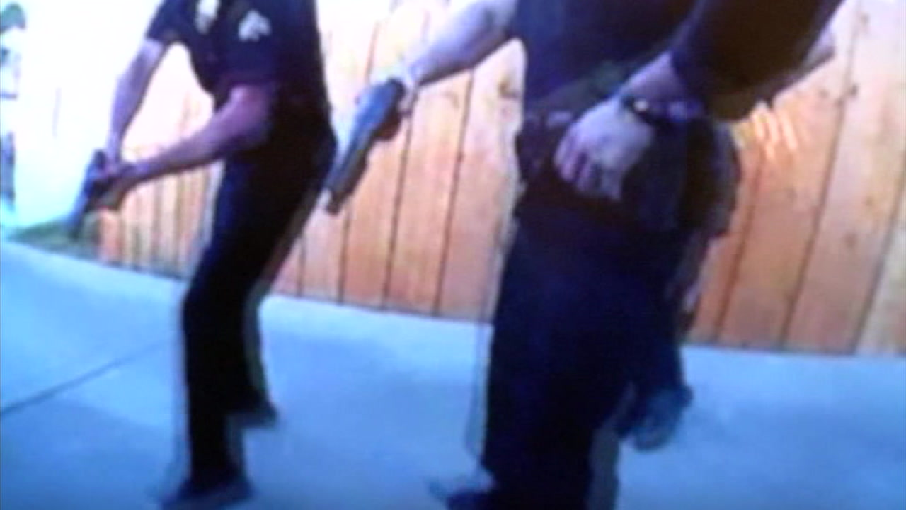 Body camera video was released by the family attorneys for a man who was shot and killed by LAPD officers in 2016.