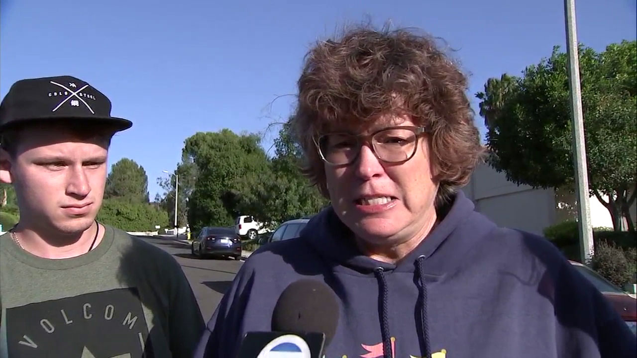 Susan Orfanos, mother of Telemachus Orfanos, who was killed in the Thousand Oaks mass shooting, called for stricter gun control.