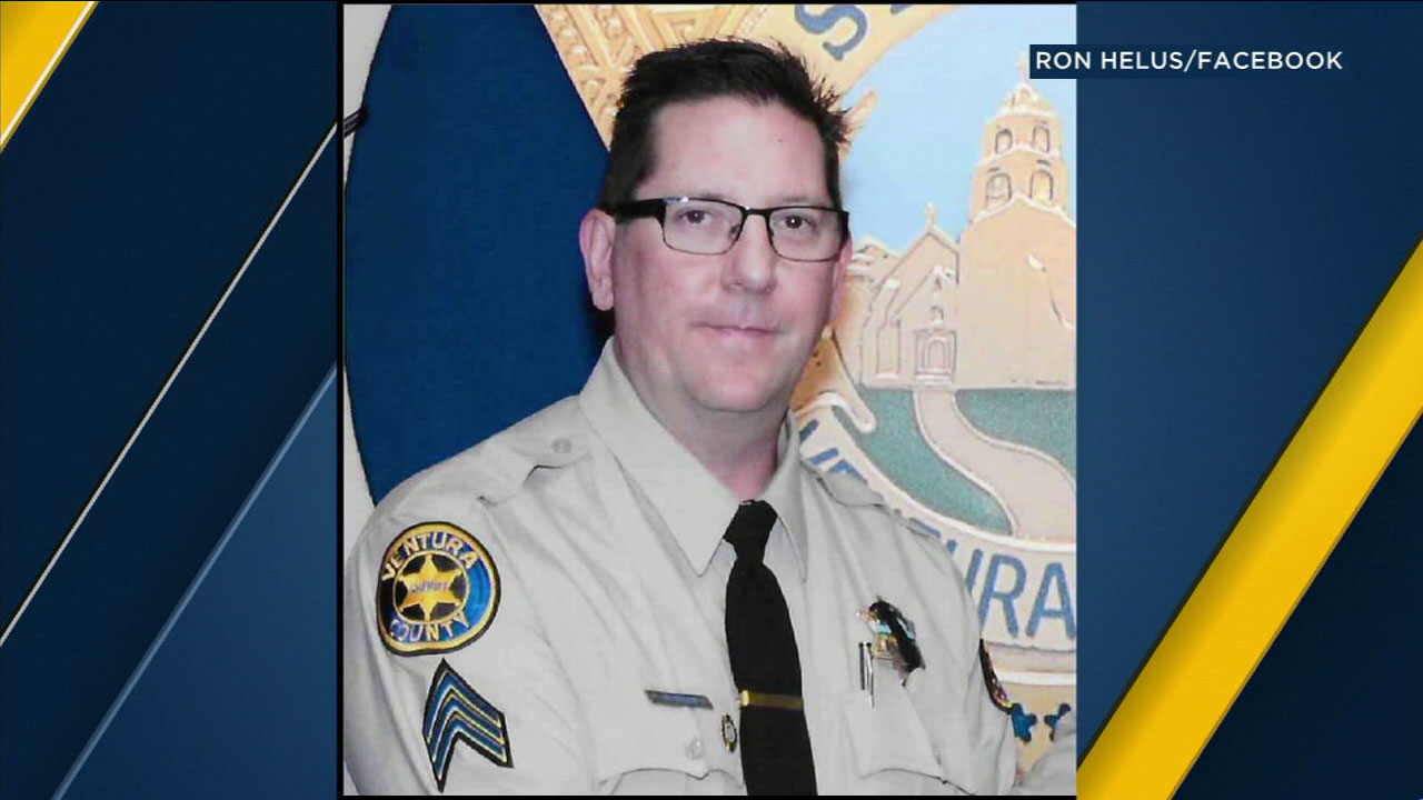 Ventura County sheriffs Sgt. Ron Helus is shown in an undated photo.