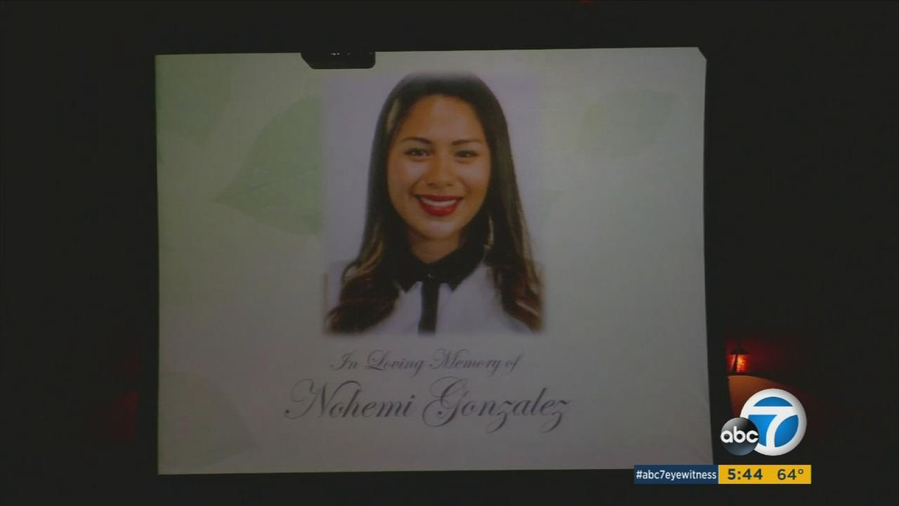 A funeral was held Friday for California State University, Long Beach student Nohemi Gonzalez, who was shot and killed during the attacks in Paris last month.