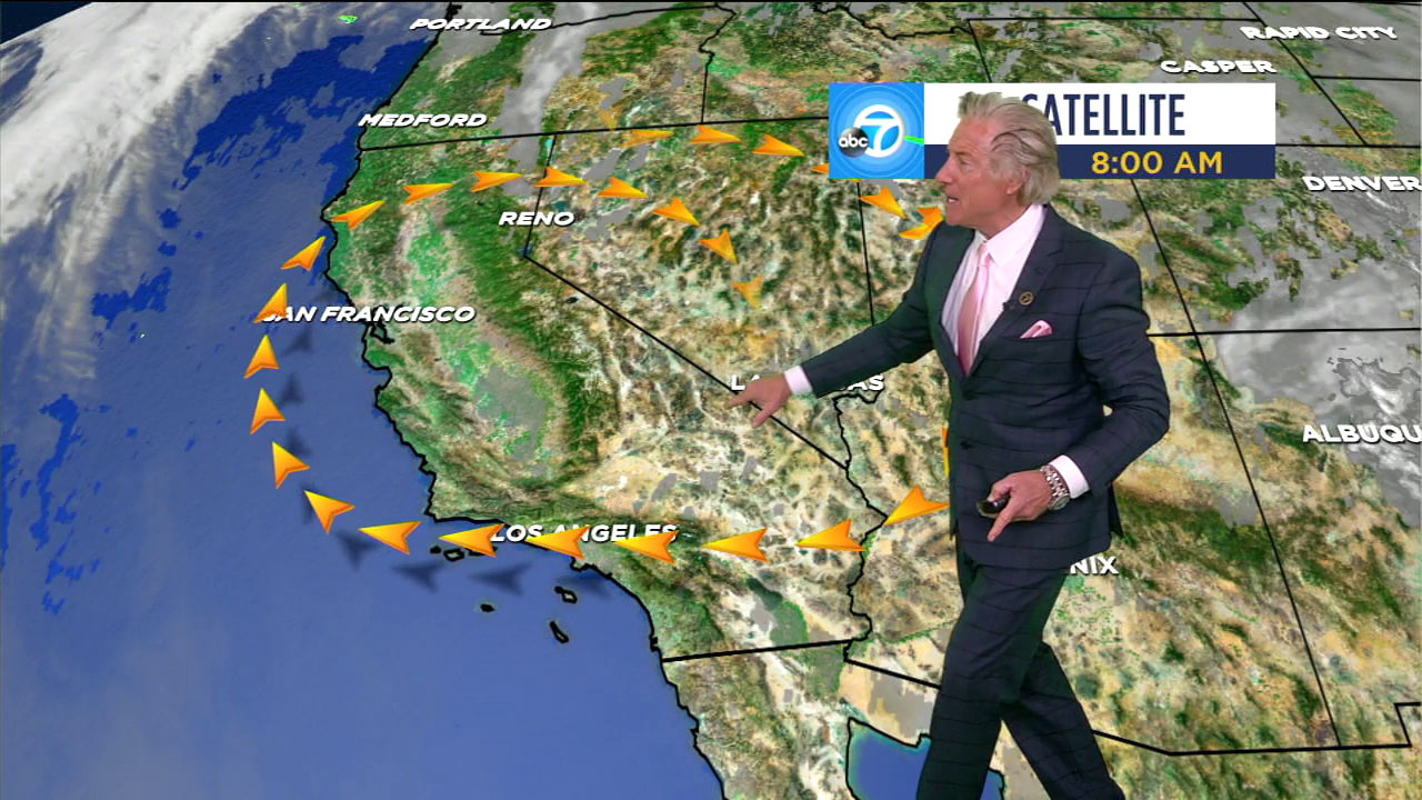 Gusty winds are expected for another day Tuesday in Southern California.