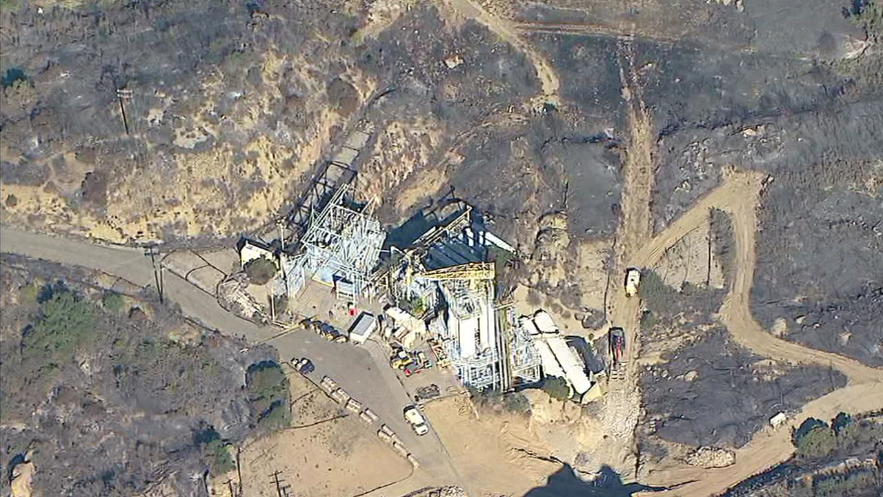The Woolsey Fire broke out near the former Rocketdyne Santa Susana Field Lab, leading to concerns about toxic materials being released into the air.