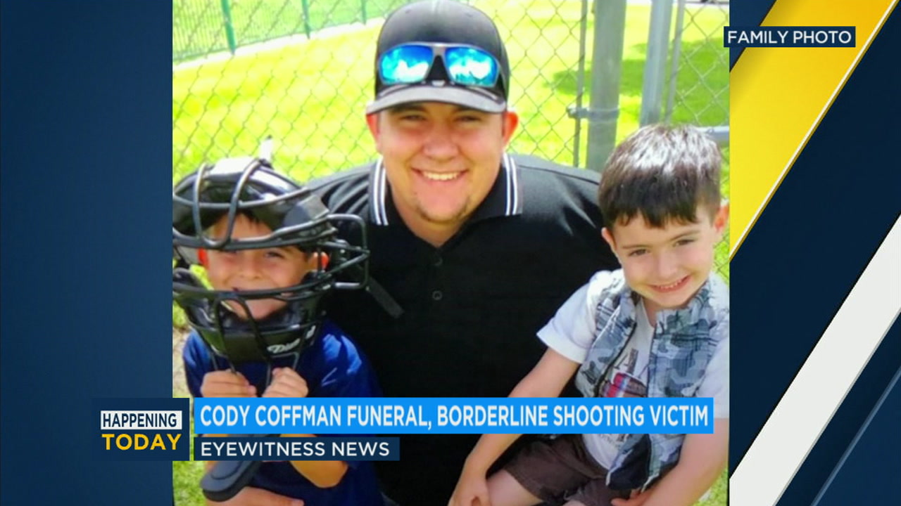 A public viewing was held Wednesday for Cody Coffman, one of the victims in the Thousand Oaks mass shooting.