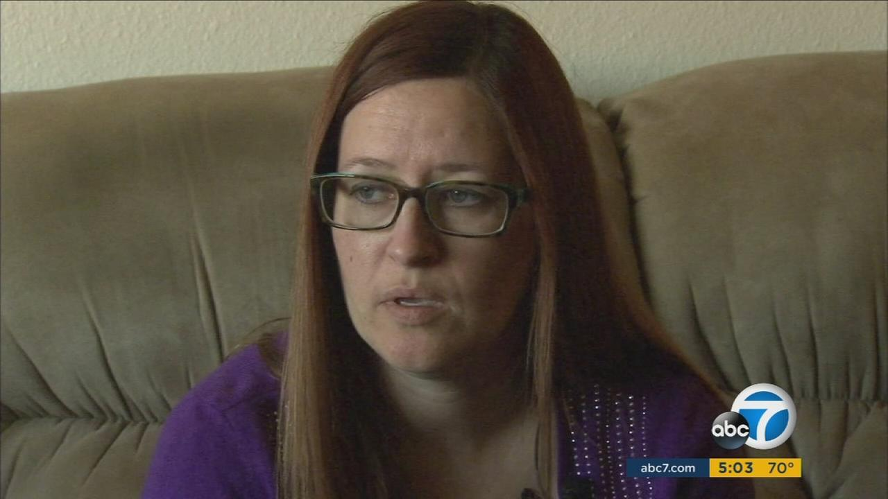 Paula Harold survived the San Bernardino terrorist attack after hiding in a set of cabinets until helped arrived.