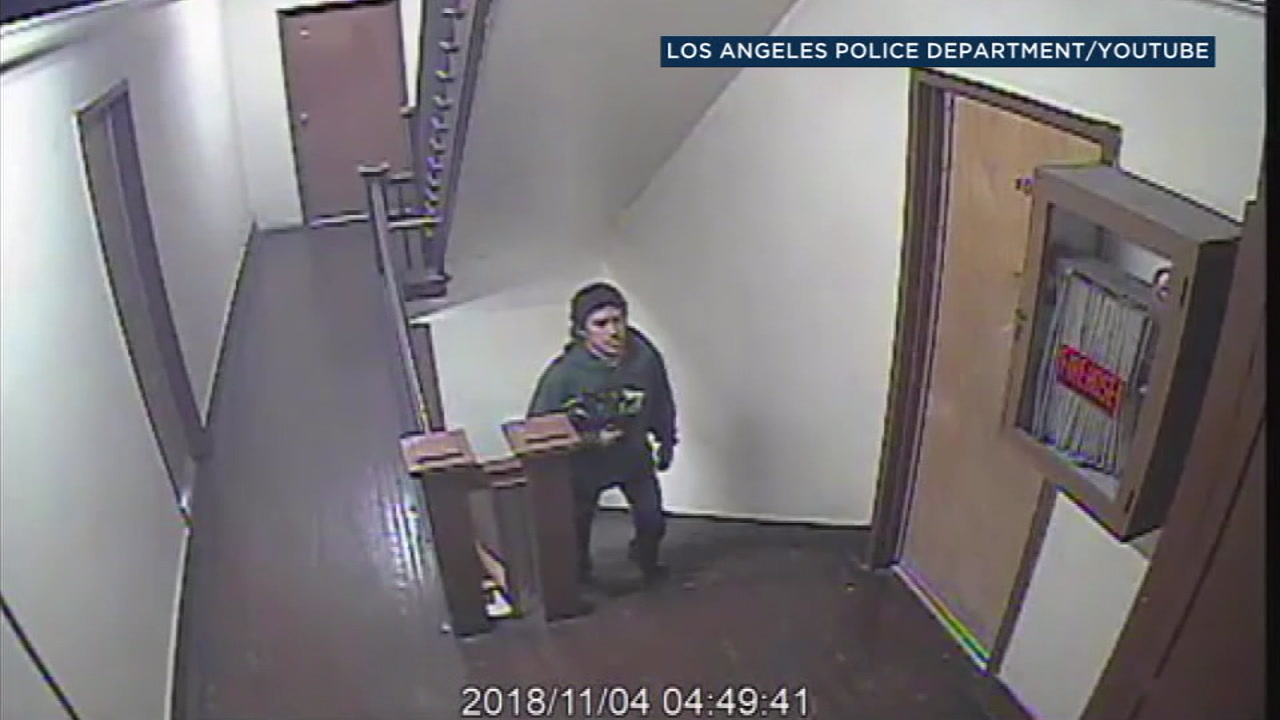 Los Angeles police are looking for a man who broke into a womans apartment in Echo Park and sexually assaulted her while she was sleeping.