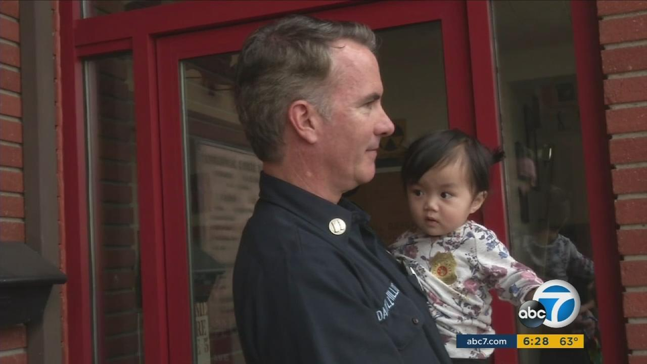 Girl Who Was Surrendered At Santa Ana Fire Station