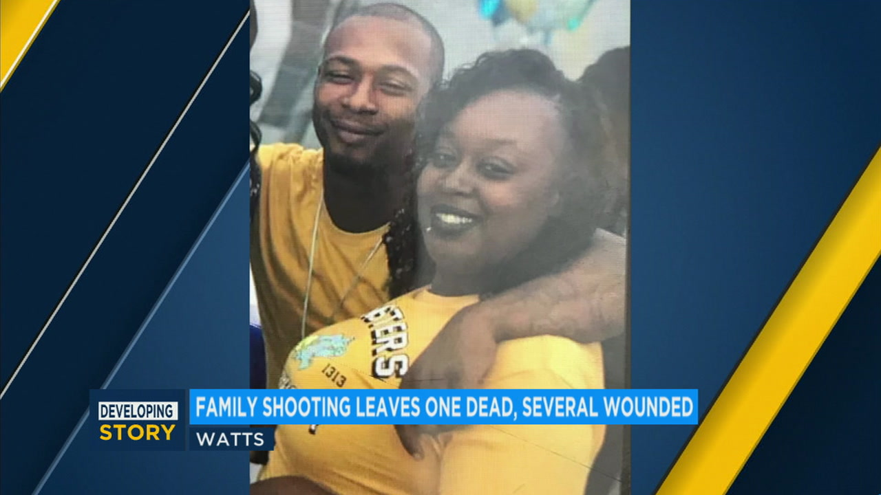 An undated photo shows 33-year-old Shanikka Hughes, alongside her boyfriend, Derrick, who family members say fatally shot her on Sunday, Nov. 18, 2018.