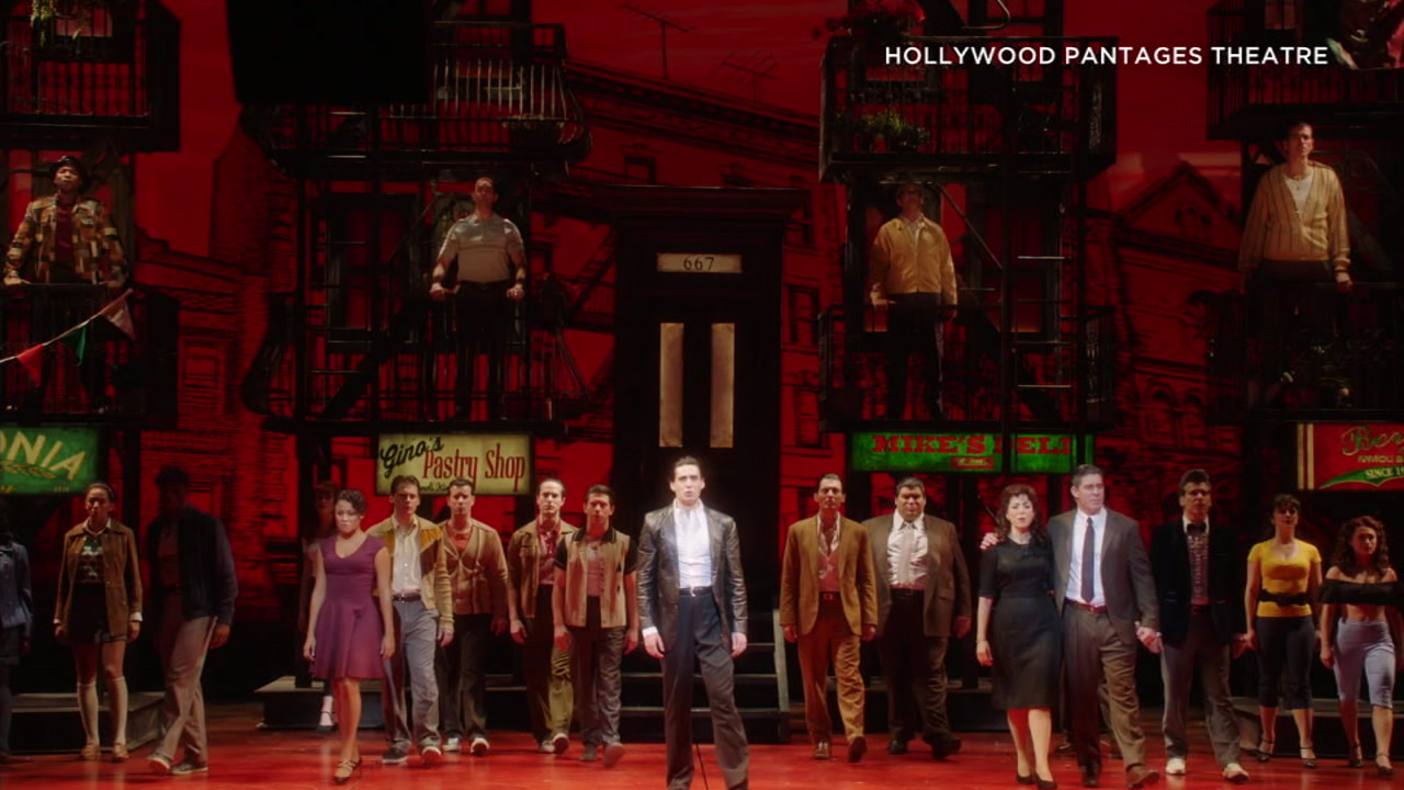A Bronx Tale can now be seen at Hollywoods Pantages Theatre