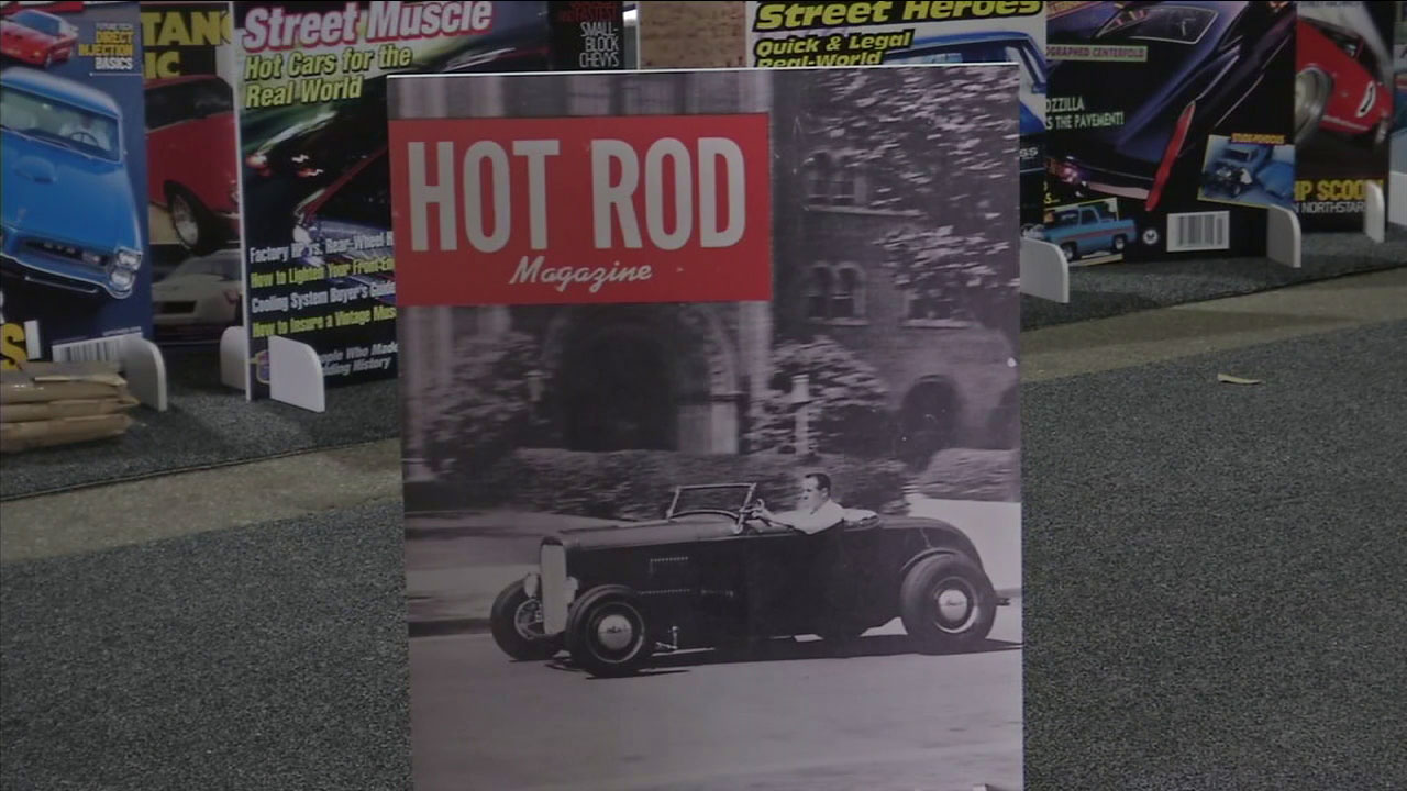 The one and only Hot Rod magazine marked 70 years of automotive influence with a big show and racing action in Pomona.