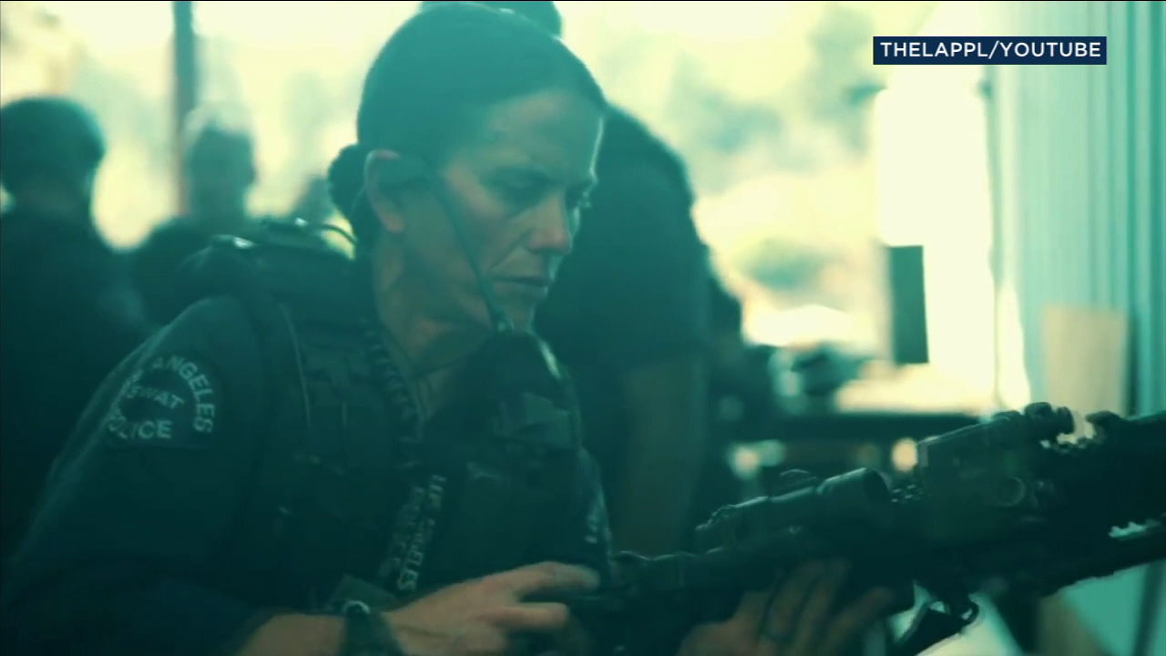 Sgt. Jennifer Grasso is the first woman to be on the Los Angeles Police Department SWAT team.