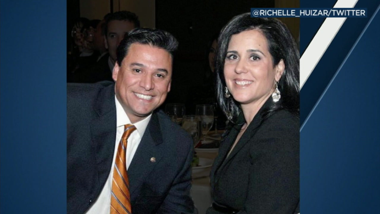 An undated photo of Jose and Richelle Huizar.
