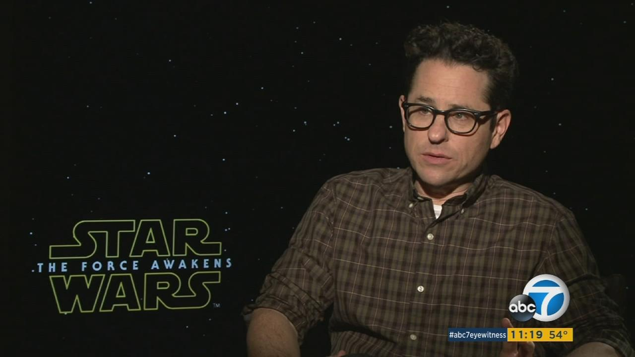 J.J. Abrams, director of Star Wars: The Force Awakens, discusses his upcoming film and the pressure that comes with it.