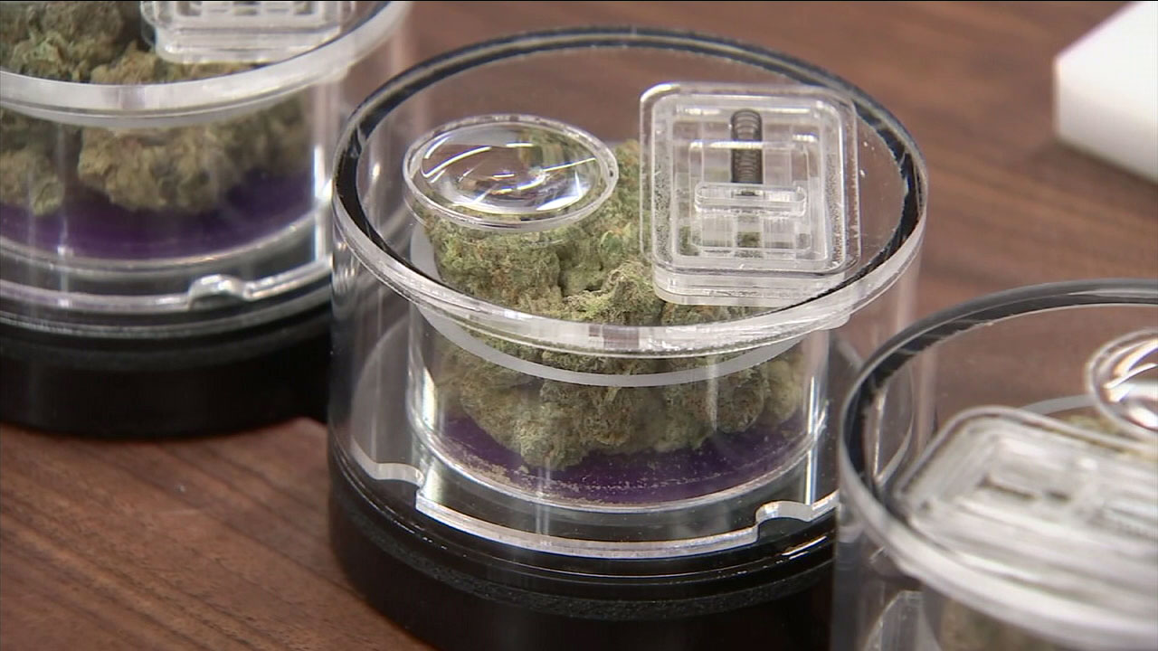 Marijuana is shown at Med Men during the companys Black Friday sale.