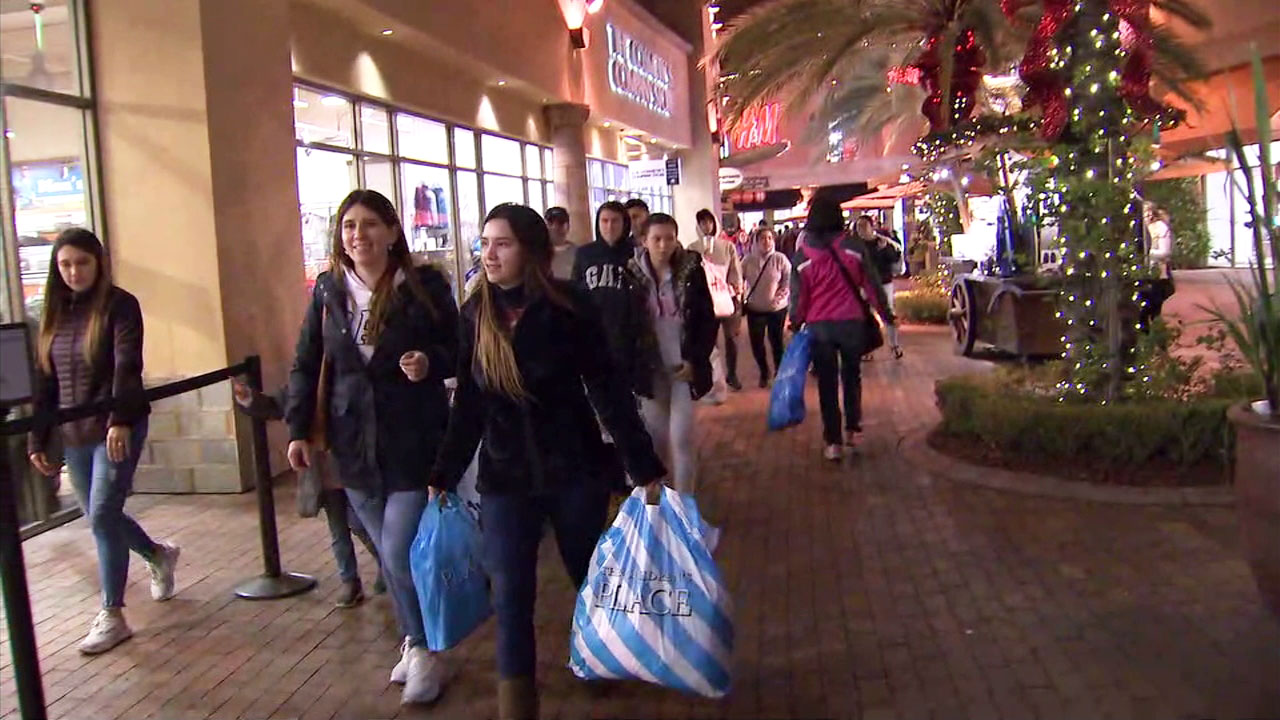 Southern Californians shop for Black Friday at the Citadel Outlets.