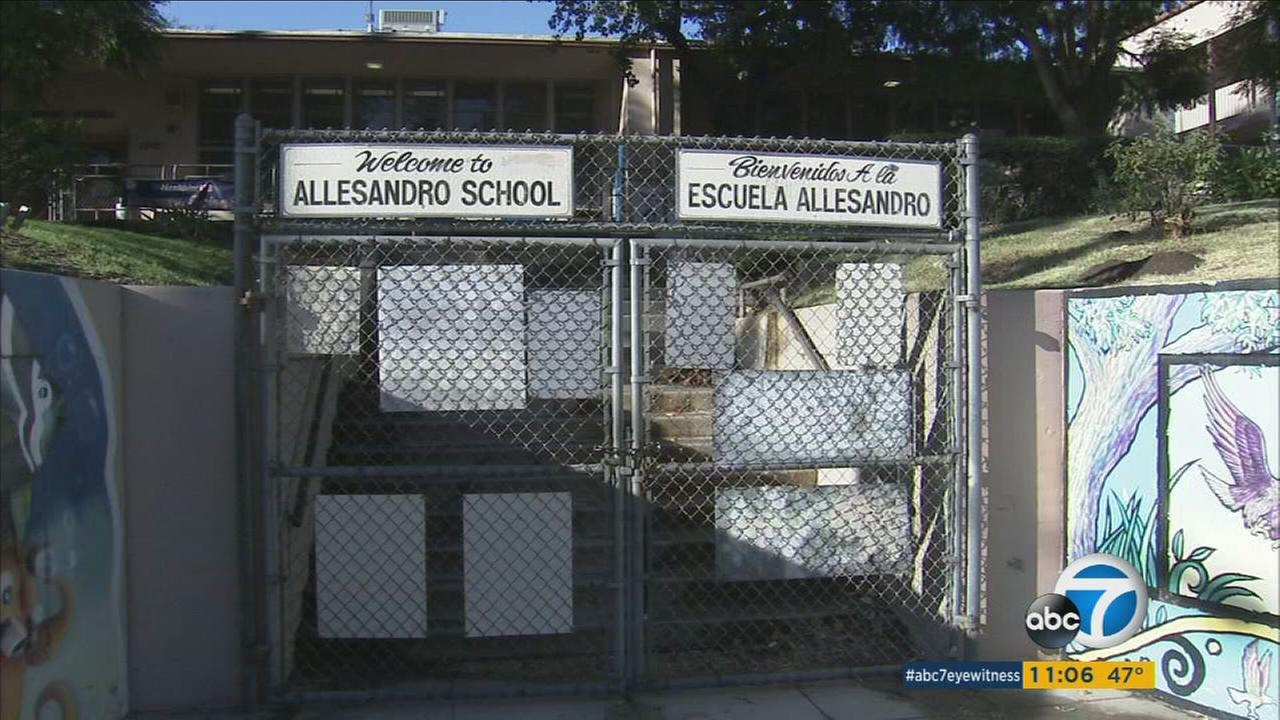 After schools were shut down in the Los Angeles Unified School District due to a threat, officials announced class would resume Wednesday, Dec. 16, 2015.