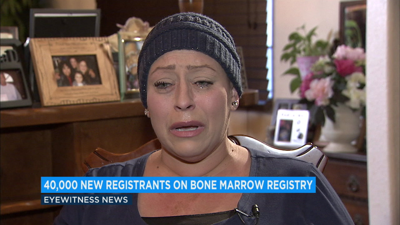 A record-breaking number of people signed up to be potential bone-marrow donors to help a SoCal leukemia patient who is about to give birth to twins.