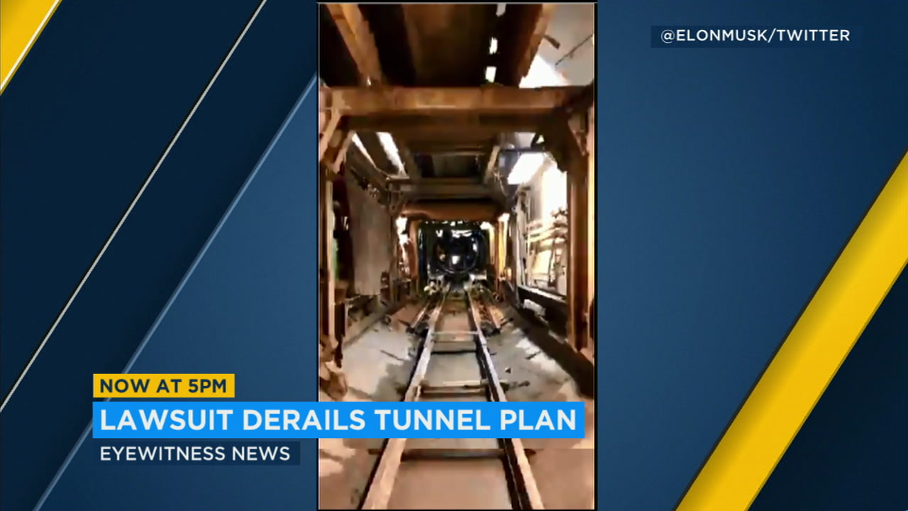 The Sepulveda test tunnel is shown in a video by The Boring Company.