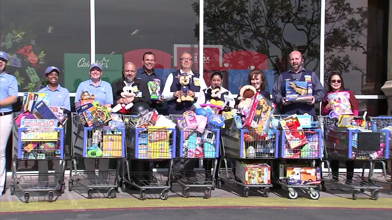 ABC7 and Southern California firefighters are celebrating their 26th anniversary of the Spark of Love toy drive.