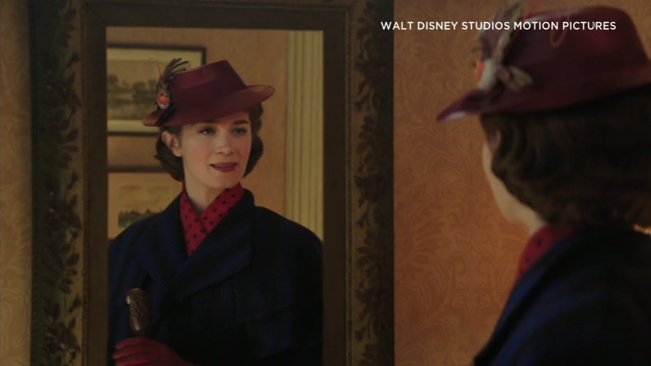 A photo from the 2018 film Mary Poppins Returns.