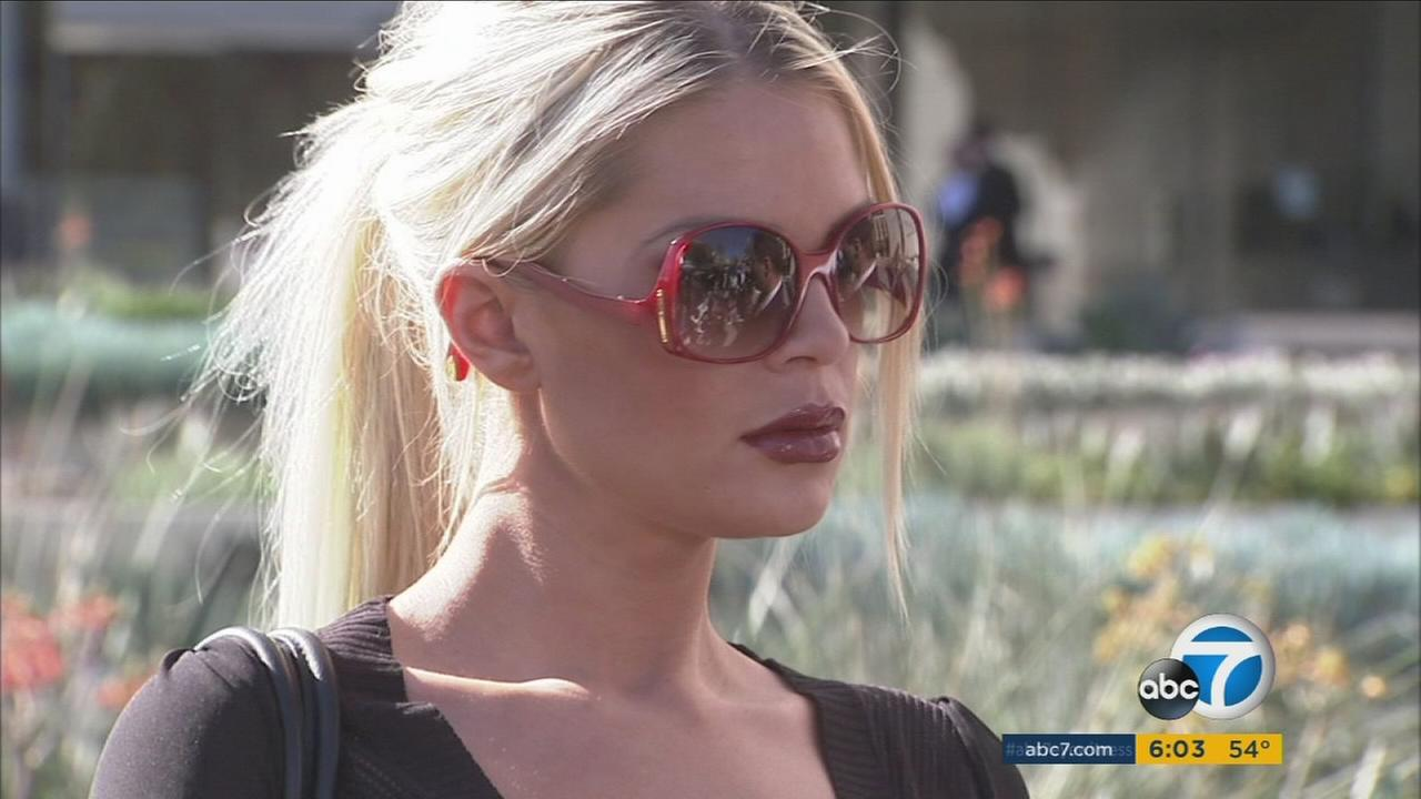 Model Chloe Goins, who claims Bill Cosby sexually assaulted her while she was a teenager in 2008.