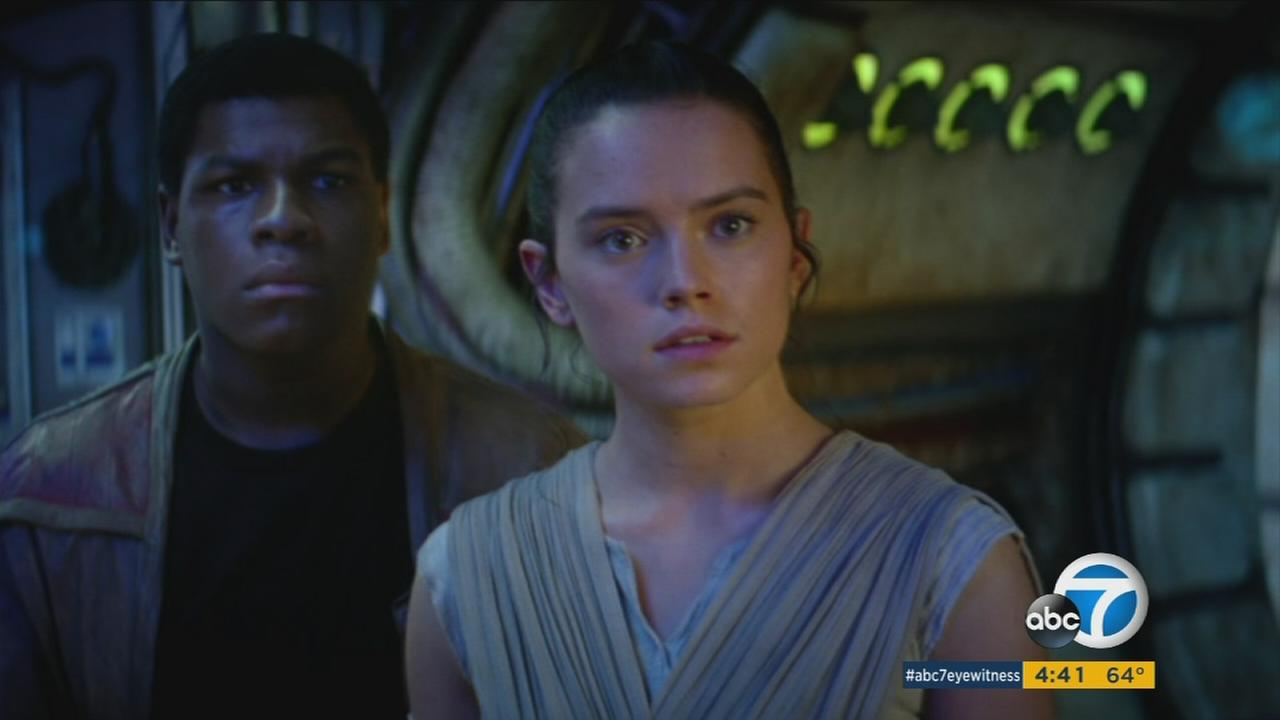Star Wars: The Force Awakens climbed to the second spot of the top box office moneymakers in 2015 in just over two weeks.