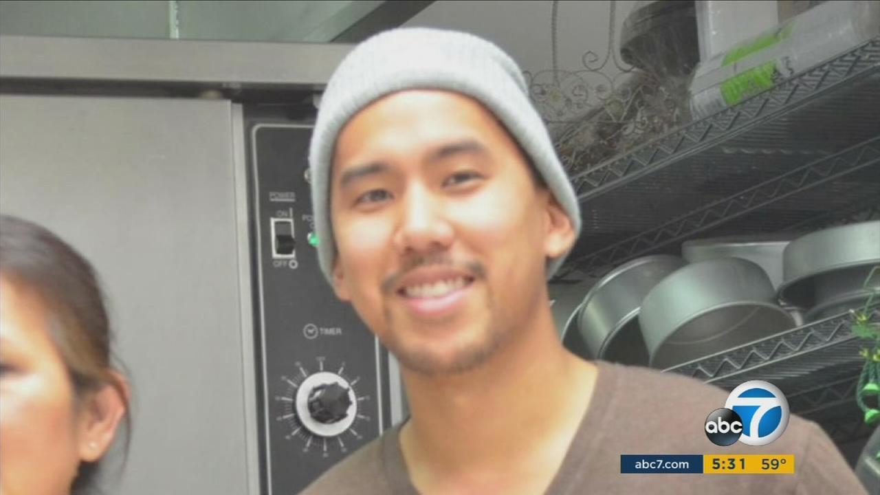 Larry Venoya, 28, who was shot in the San Bernardino terror attack, seen in an undated image.