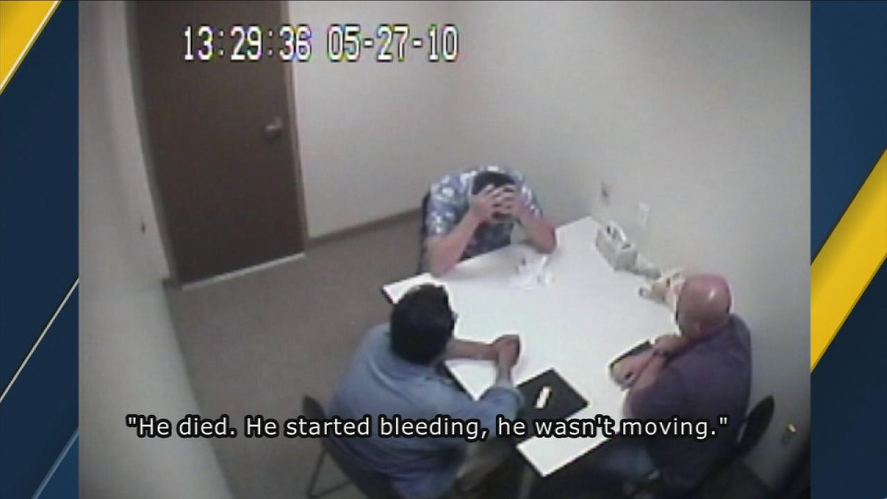 Video obtained by ABC7 shows convicted murderer Daniel Wozniak confessing to killing two people.