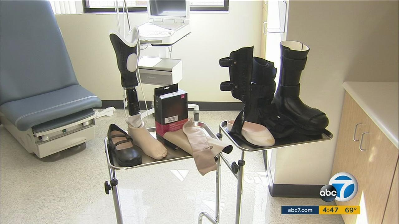 Doctors hope the new Center for Limb Preservation and Advanced Wound Care will help prevent amputations for diabetes patients in East Los Angeles.