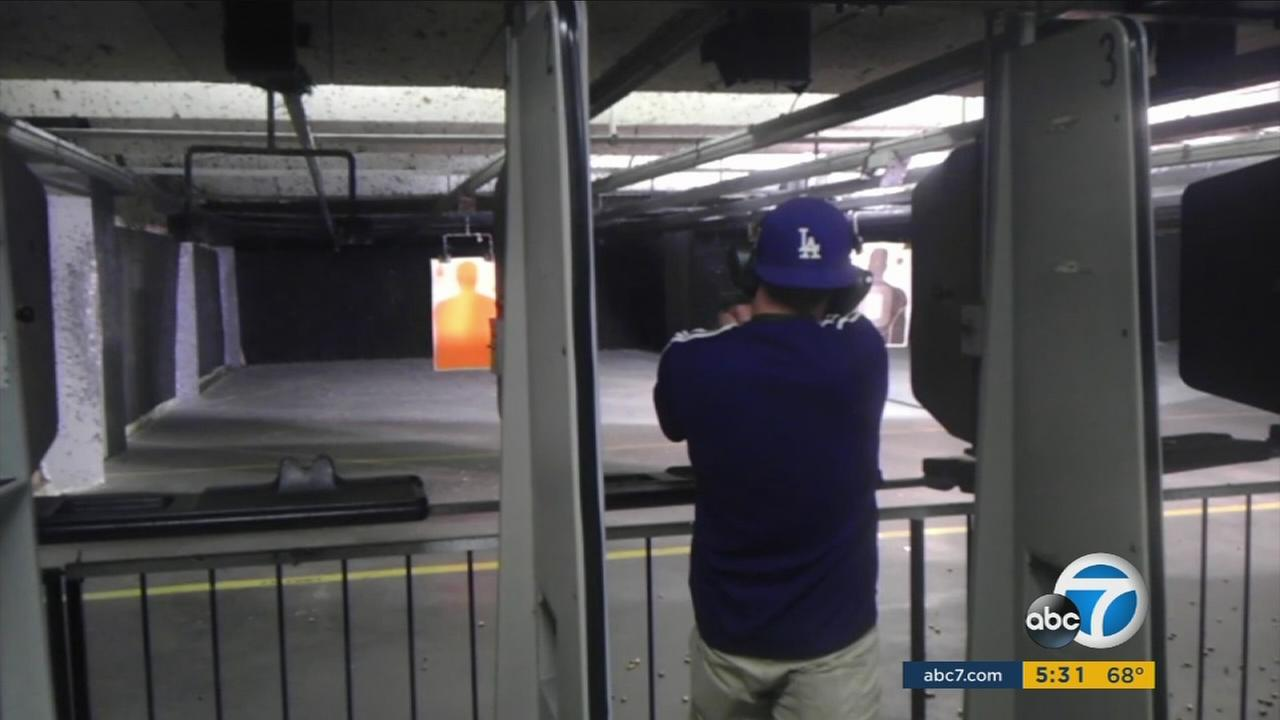 Undercover footage shot by an FBI informant shows terrorism conspirators practicing at a Southern California gun range in September of 2012.