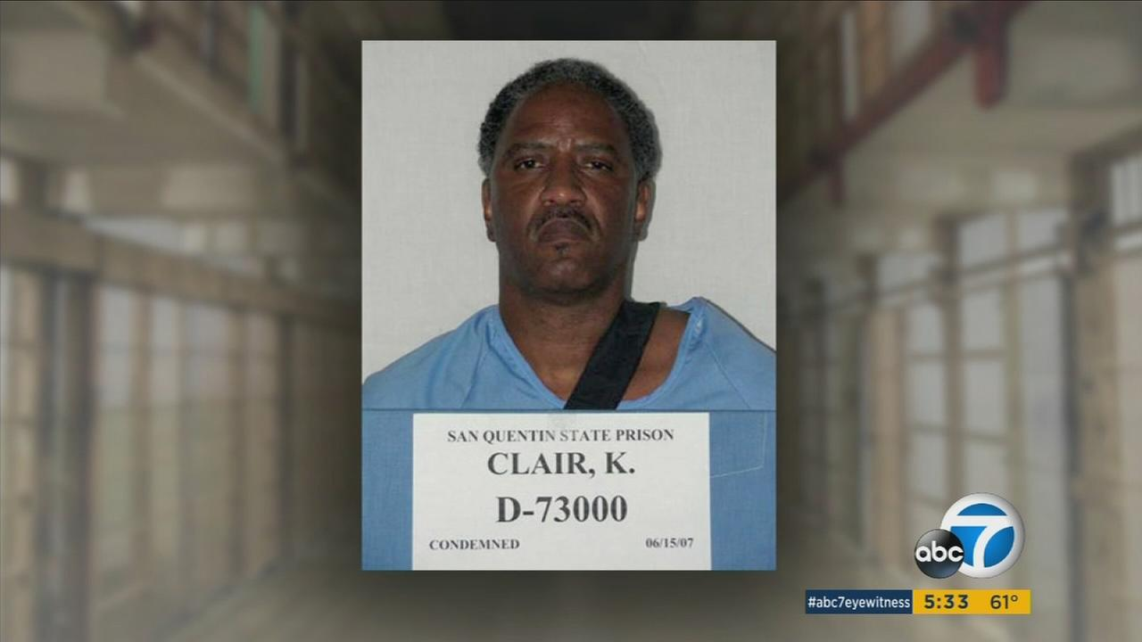 Kenneth Clair, 55, is shown in a mugshot from San Quentin State Prison.