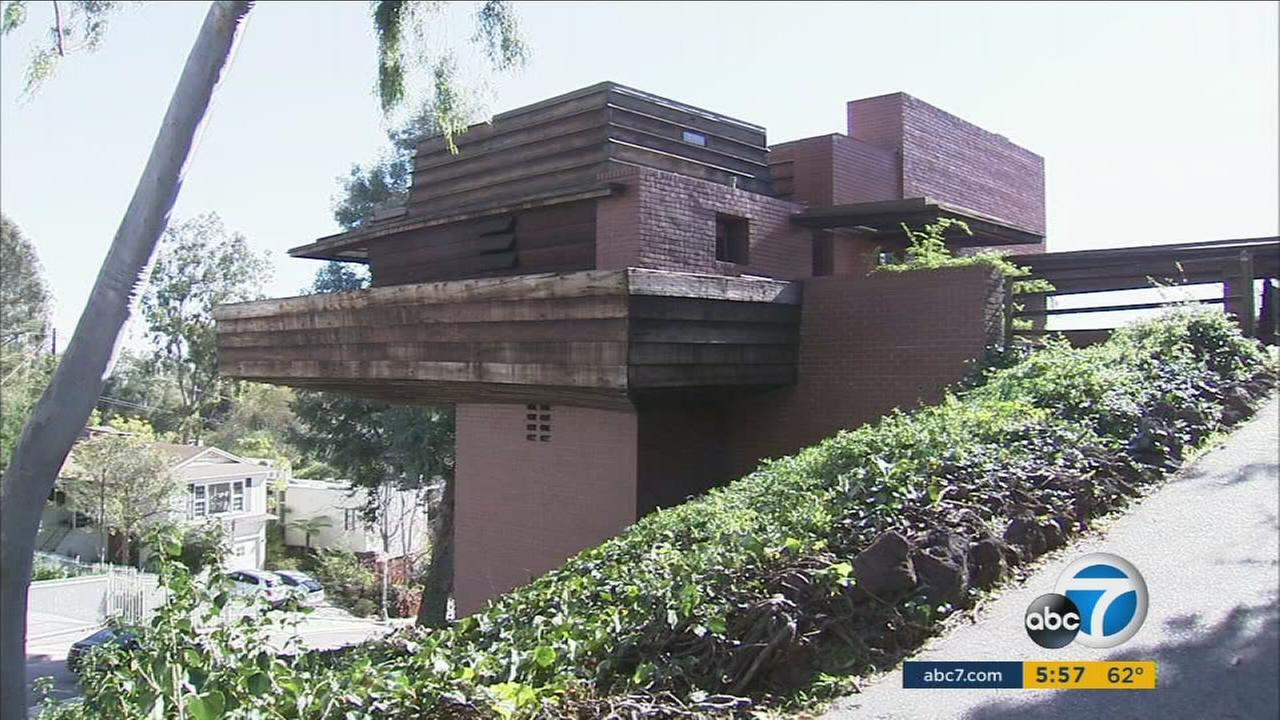A home designed by Frank Lloyd Wright will be auctioned this month.
