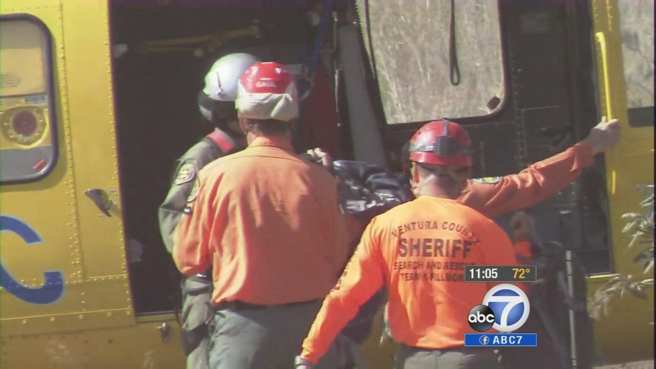 A search is underway for an off-duty Arcadia firefighter who disappeared in the mountains near Fillmore.